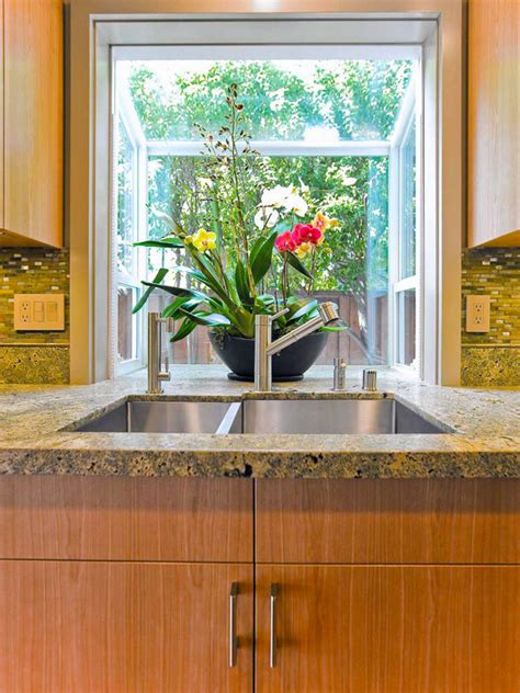 Garden Windows For Kitchen Refreshing Part In The Kitchen Garden Window Decorating Ideas
