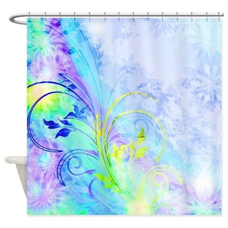 Blue And Purple Shower Curtain by Purple And Blue Shower Curtain By Ibeleiveimages