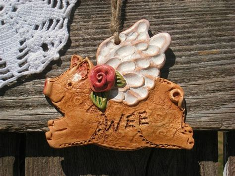 Pig Home Decor by When Rosy Pigs Fly Home Decor Flying Pig By