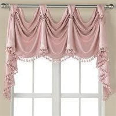 Jcpenney Valances Window Treatments jcpenney supreme victory valance with tasseled fringe trim ebay