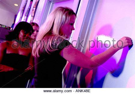 all the girls waiting in line for the bathroom women waiting at bathroom door stock photo royalty free image 1965488 alamy