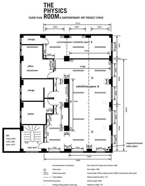 the physics room floor plan the physics room