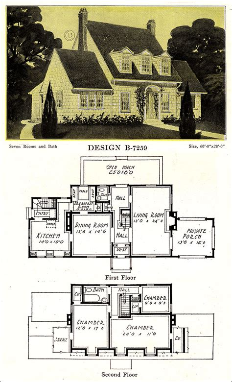 modern colonial revival    bowes  chicago