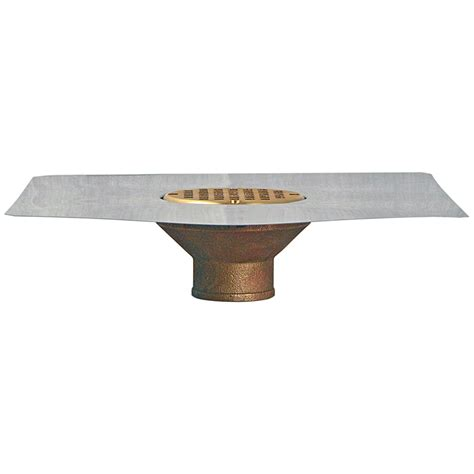 Stainless Steel Bowl Deck Drain