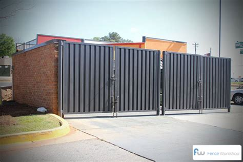dumpster and garbage enclosures gates atlanta fence