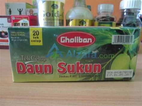 Teh Celup Binahong Dengan Teh Hijau jual teh celup daun sukun sehat alami dengan herbal di alzafa alzafa store