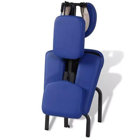 sedia portatile sedia massaggio pieghevole e portatile vidaxl it