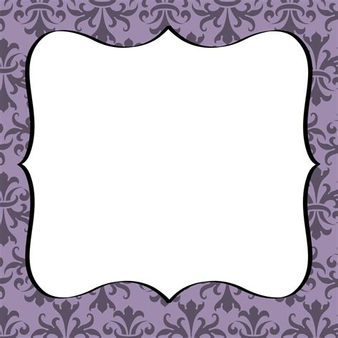 printable letters with borders free damask border cliparts co