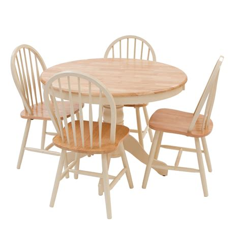4 Chairs Dining Table York Dining Table And Four Chairs Set