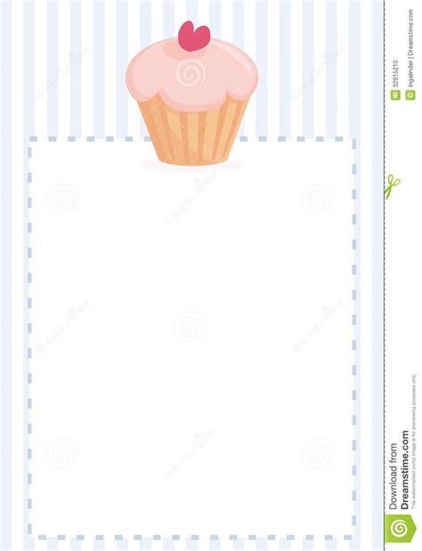 baby shower card cupcake template restaurant menu wedding card baby shower invita stock