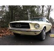 Solid 1967 Ford Mustang Coupe Project For Sale