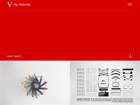 portfolio layout vorlagen charmant einfache portfolio website vorlage fotos