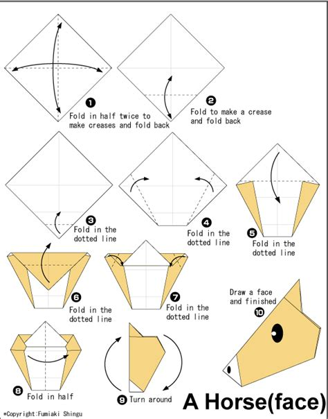 Origami Diagrams Animals - origami easy origami for