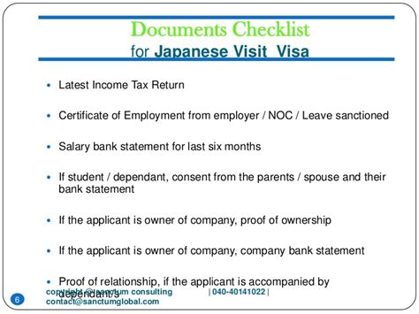 Employment Letter For Japanese Visa Japanese Visit Visa Sanctum Consulting