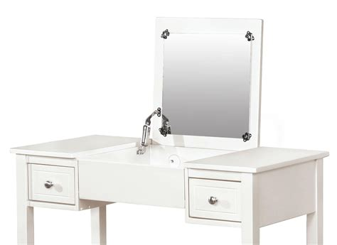 linon home decor vanity set with butterfly bench black