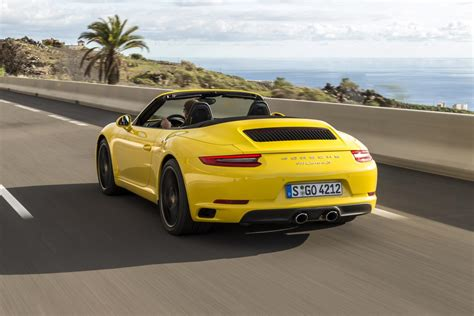 Porsche Carrera S Cabrio by Porsche 911 Carrera S Cabrio Test En Specificaties 2016