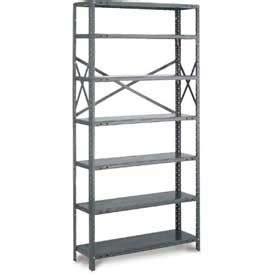 tri boro shelving shelving steel shelving open tri boro klip it open starter osk73 1836 8 36 quot w x 18 quot d x 73