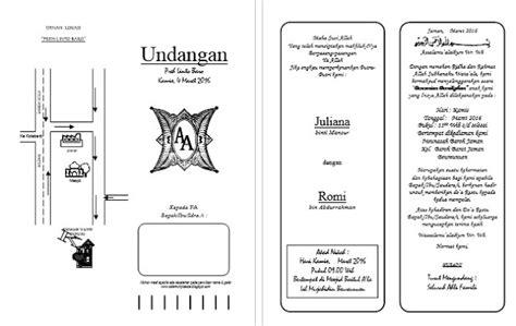 desain layout word download desain undangan pernikahan format word rakus share