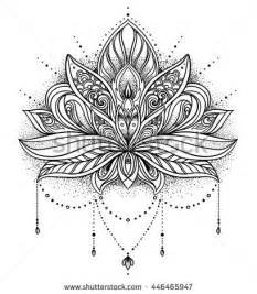flower tattoo stock images royalty free images amp vectors