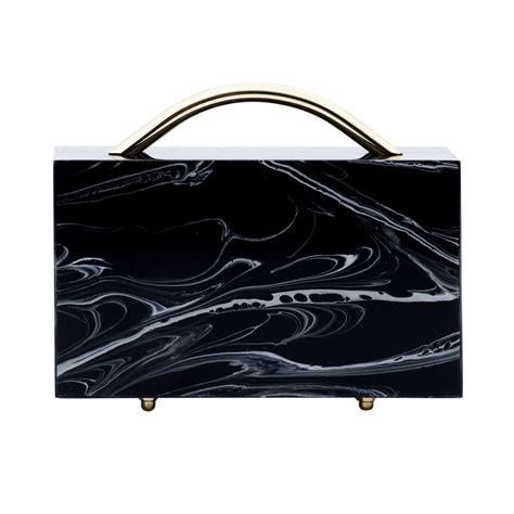 Black Marble Clutch the eid al fitr fashion trends to follow in 2017