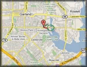 map of rowlett ddrc paddle trip on rowlett creek