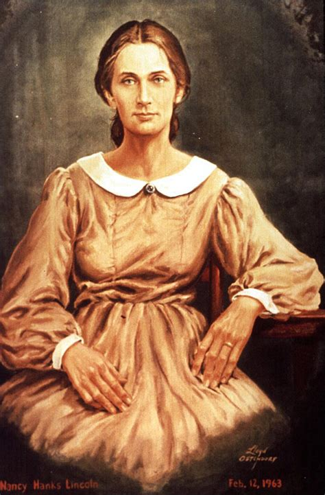 abraham lincoln  mother nancy lincoln