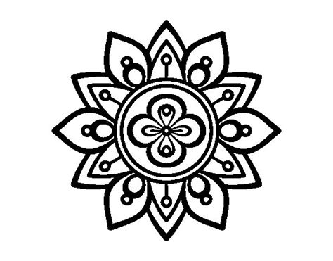 fior di loto disegno disegno di mandala fior di loto da colorare acolore