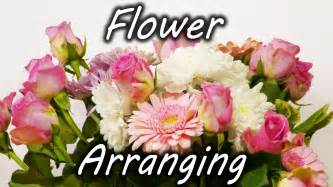 flower arranging flower arranging trick youtube