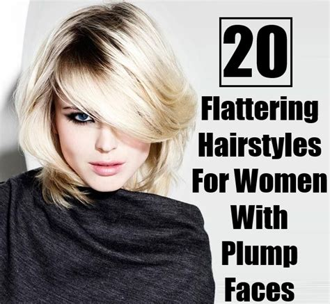 diy hairstyles for chubby faces 20 flattering hairstyles for women with plump faces diy