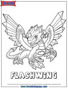 skylander coloring pages skylanders giants flashwing coloring page h m coloring