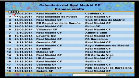 Calendario Real Madrid 2015 Calendario 2015 Real Madrid Calendar Template 2016