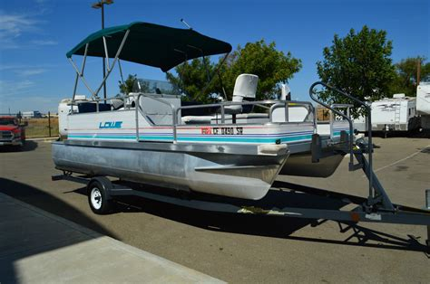usa pontoon lowe 185 pontoon 1996 for sale for 510 boats from usa
