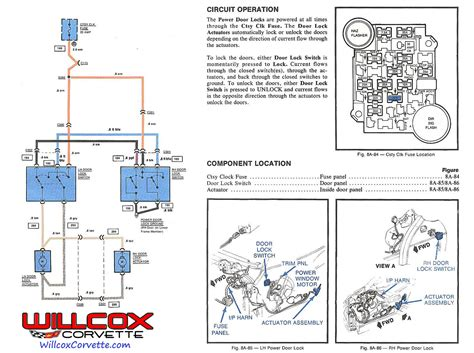 central locking actuator wiring diagram actuator schematic