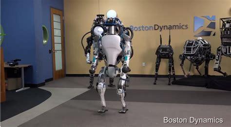 boston dynamics robot boston dynamics atlas robot is now totally bully proof memeburn