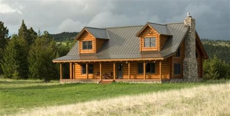 log cabin style homes traditional style log cabin in montana home design