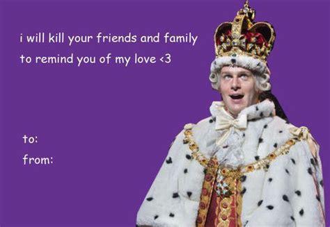 hamilton valentines cards    person