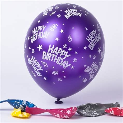 Balloonable Balon Foil Cake Happy Birthday balloons helium foil designs from 99p