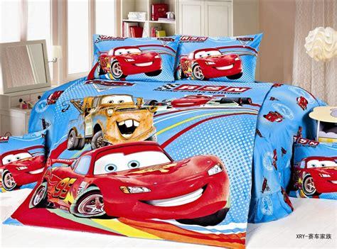 Lightning Mcqueen Bedding Set Mcqueen Lightning Car Bedding Single Size Bed Quilt Duvet Cover Set Bedcloth Boy
