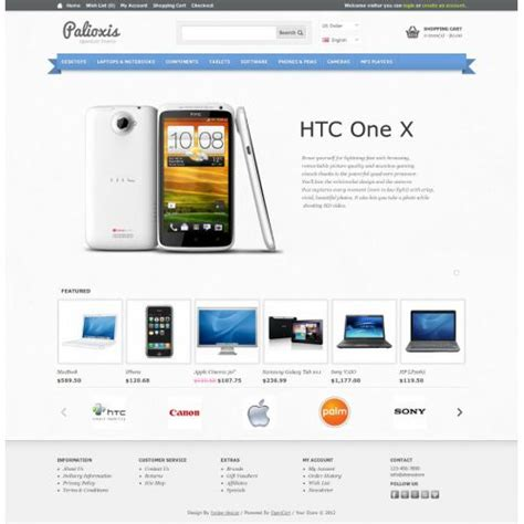 template toko online opencart free template opencart news release