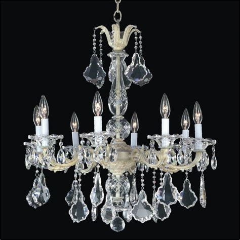 Chandelier Iron 8 Light Chandelier Metal And Chandelier 546a Glow 174