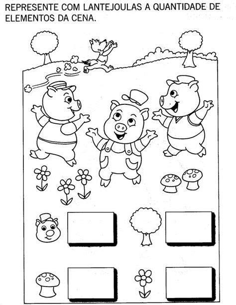 """Projeto """"Os Três porquinhos"""" - 2 projetos, plano de aula"""