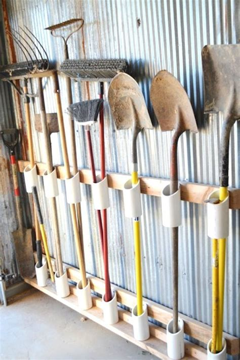 Garage Storage Ideas Tools Gardening Supply Organizing Diy Storage Ideas