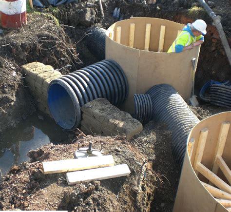drainage schemes hall lane drainage scheme pitsea essex sb civil