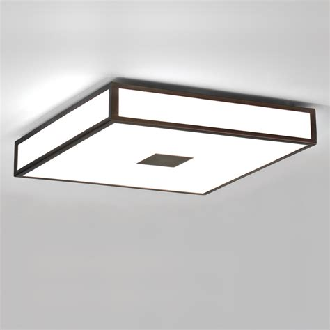 Bathroom Ceiling Lights Zone 2 Astro Mashiko 400 Zone 2 Ip44 Square Bathroom Ceiling Light Bronze 4 X 40w Max Ebay