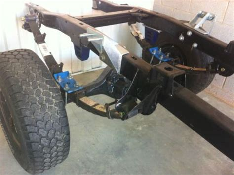 buy new 66 ford bronco chassis with james duff lift and