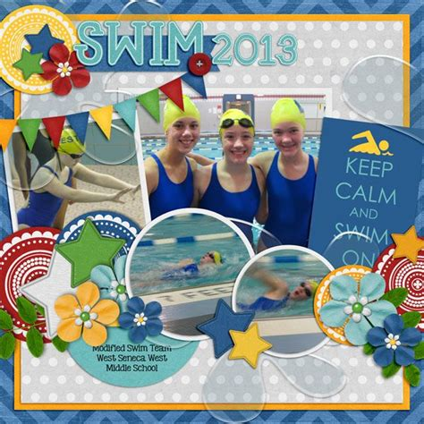 themes for swimming carnival 49 best scrapbook swim team images on pinterest