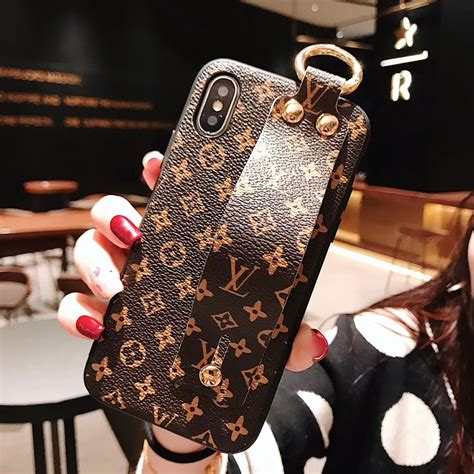 iphone xs louis vuitton phone cases hand strap covers  iphone xs max capa phone cheap case