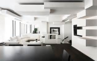 White Interior Design Ideas by Black And White Home Interior Modern World Furnishing