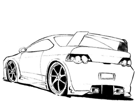 Coloring Pages Of Cool Cars | cool cars coloring pages free large images