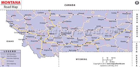 road conditions map in usa road conditions montana